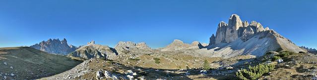 Drei Zinnen Panorama (Tre Cime di Lavaredo)