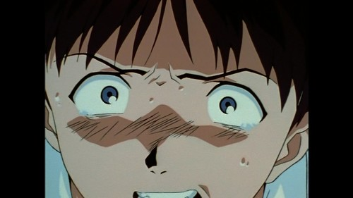 Shinji inside eva IV