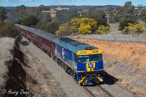 gl112 glclass ge diesel goninan heritagetrain thnsw transportheritagensw passengertrain 6l75 canberra
