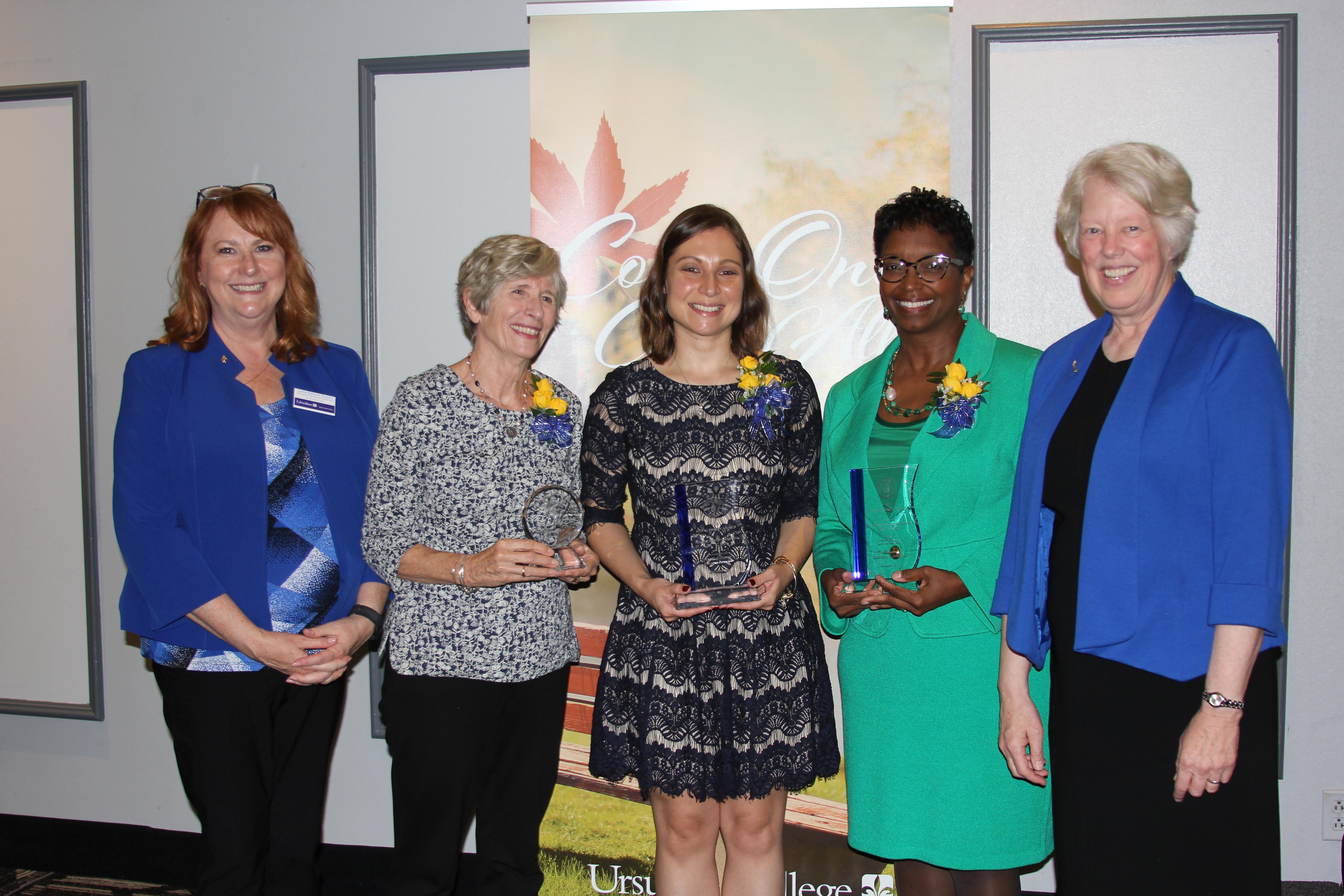 2018 Alumnae Award Winners