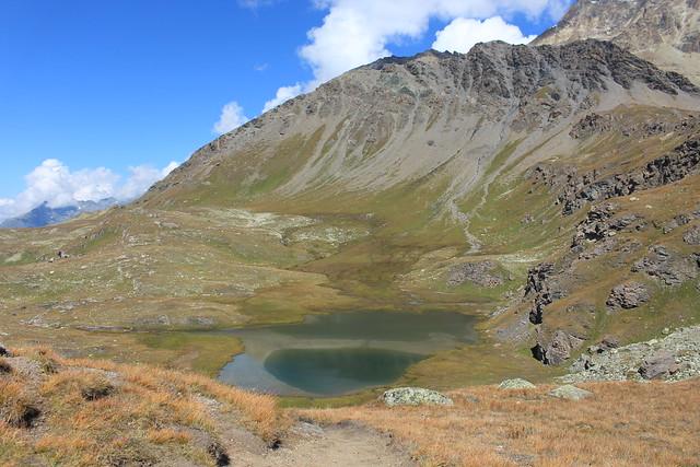 lac de Tsofeiret depuis le Col