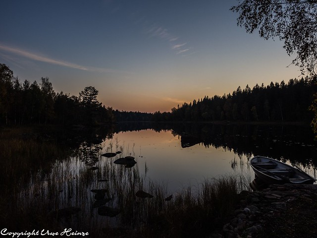 Iglasjön Torsås Sonnenuntergang 102018 04