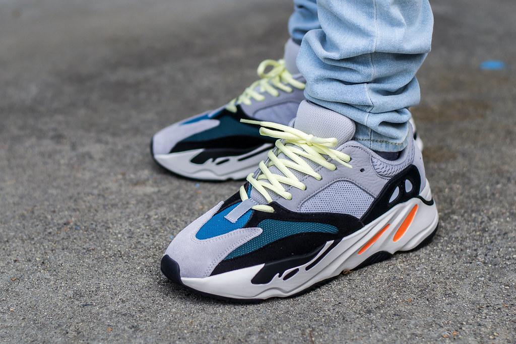 adidas yeezy 700 wave runner on feet