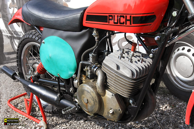 PUCH MX Motorcycle Made in Austria (c) 2018 Берни Эггерян  :: ru-moto images 2301
