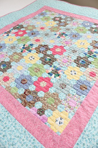 Grandmother's Flower Garden Quilt | by smithsoccasional