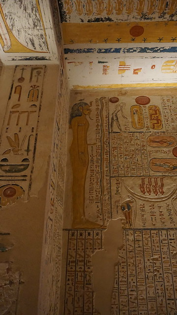 Tomb of Rameses V/VI (KV 9), the Valley of The Kings, West Bank, Luxor, Egypt.