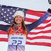 Julia Mancuso v Sochi, bronz z kombinace, foto: Head