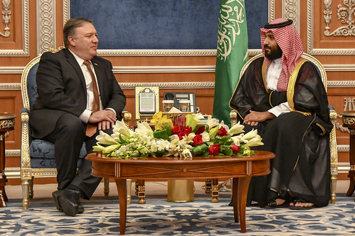 Secretary Pompeo Meets with Saudi Crown Prince Mohammed bin Salman | by U.S. Department of State