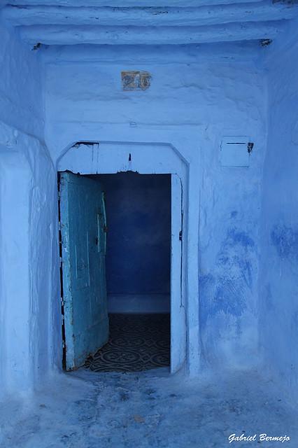 Azul por fuera, azul por dentro - Chauen