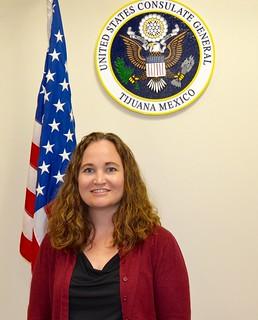 Meghan McGill, Cónsul para Asuntos Públicos y Culturales   by Consulado General de Estados Unidos en Tijuana