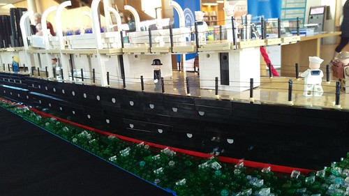RMS Leinster - original livery close up | by LostCarPark