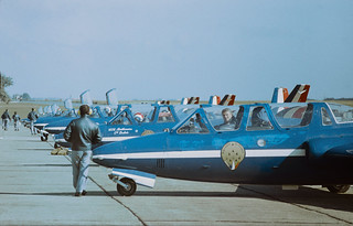 Patrouille de France Biggin Hill September 1980 | by Dreamworker53