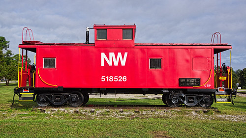 caboose graycourt laurenscounty norfolkandwestern southcarolina train