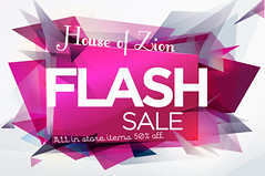 House of ZIon 50% off FLASH sale