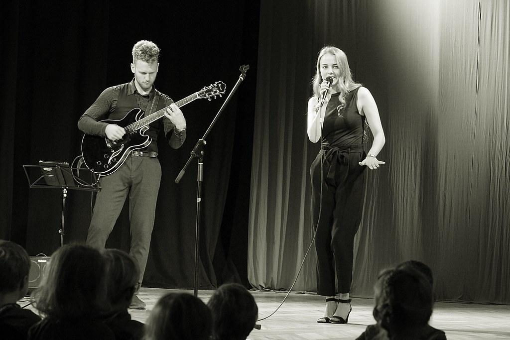 Marianne Leibur ja Karl Madis Pennar Viimsi Huvikeskuses | Flickr