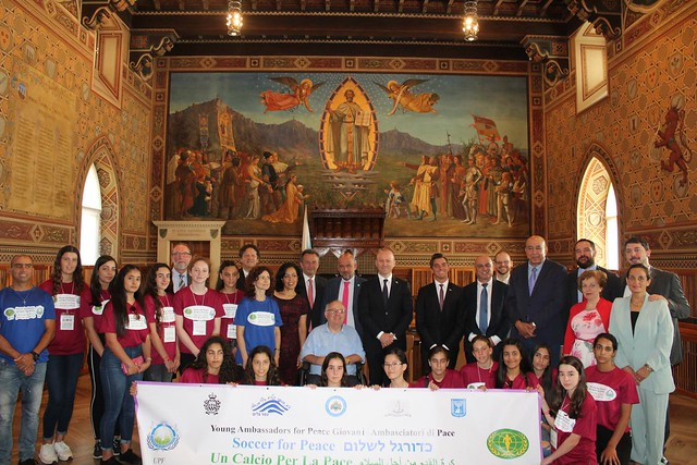 San Marino-2018-08-31-UPF Hosts Girls 'Football for Peace' Tournament