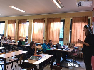 Allie DeJongh, on First Days in the Classroom | by Fulbright Brussels