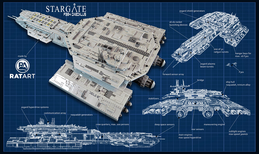 Stargate Sg 1 F304 Daedalus Ok I Think It Was The Year 20
