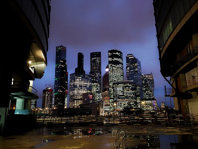 Moscow-City. Night