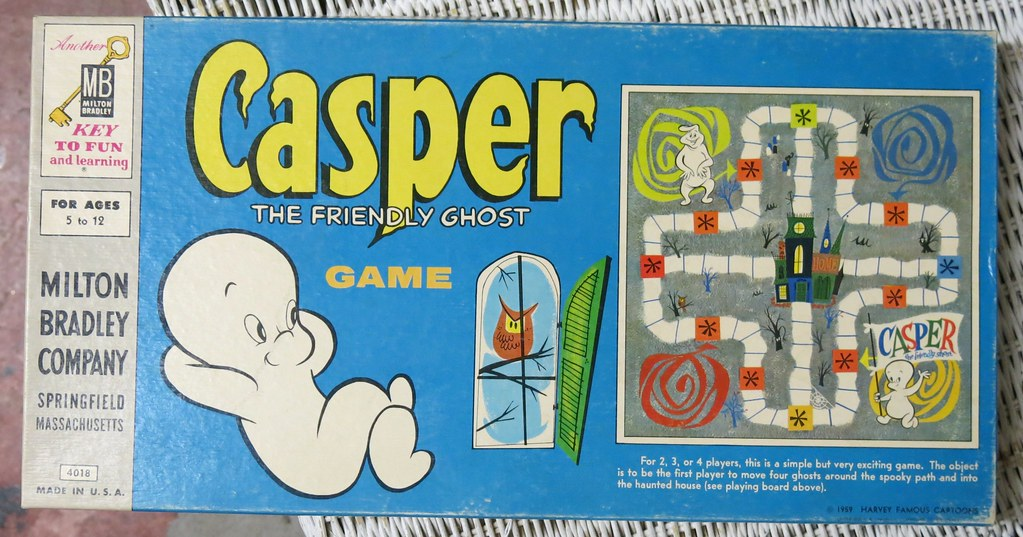 Casper the Friendly Ghost Game - 1959 - at Palm Olive in F… | Flickr