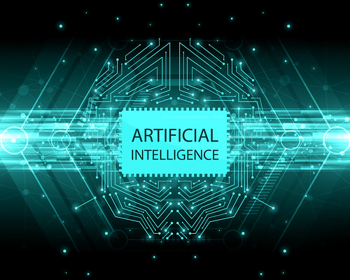 Artificial Intelligence, AI | by mikemacmarketing