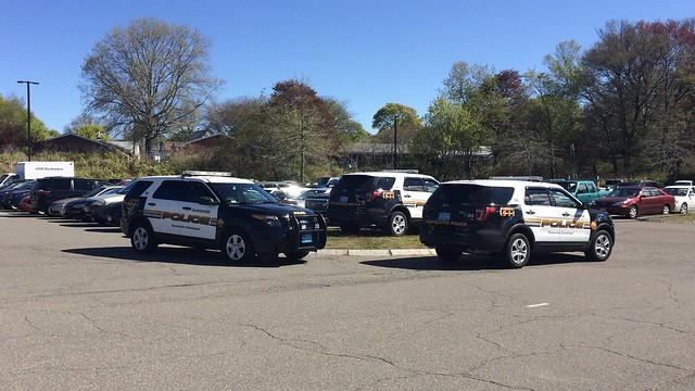 Gloucester, MA Police Ford Interceptor Utilities (84, 87, 88)