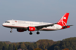 Qeshm Airlines - Airbus A320-214 - EP-FQR   by Jesse Vervoort