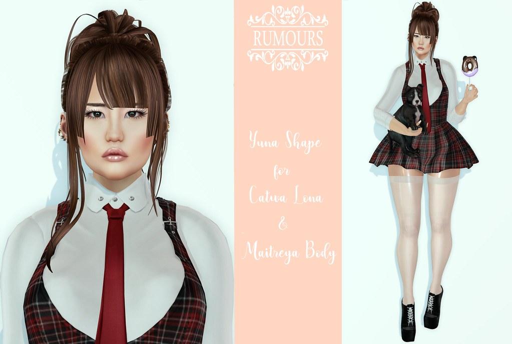 RUMOURS] YUNA SHAPE CATWA LONA & MAITREYA BODY | ۞•«—•——»My… | Flickr