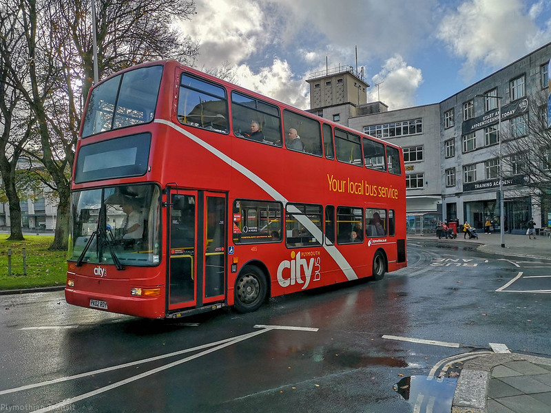 Plymouth Citybus 485 PK02RDY