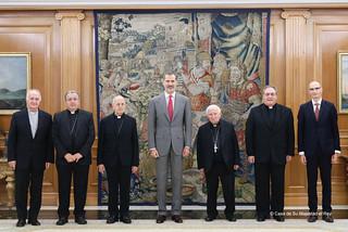 Audiencia con Su Majestad el Rey Felipe VI | by Fundación Pablo VI