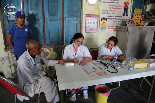 Health Checkup in the village