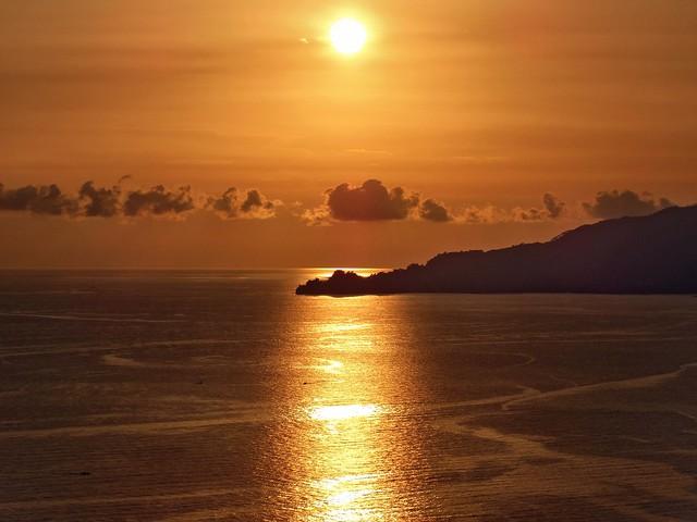 Crépuscule sur Portofino