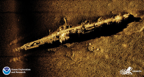 U-853 SAS Image | by NOAA Ocean Exploration & Research