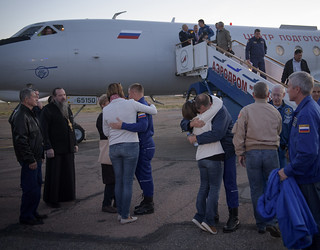 Expedition 57 Crew Returns to Baikonur (NHQ201810110007) | by NASA HQ PHOTO