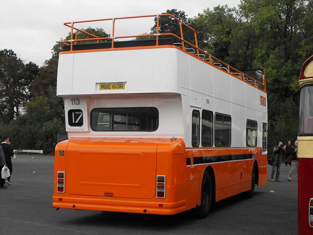113, MBE 613R, Daimler Fleetline @ Showbus 2018 (4)