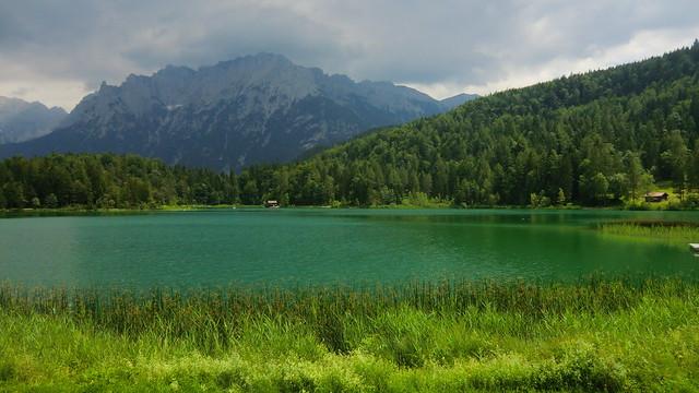Bayern - Mittenwald: Lautersee