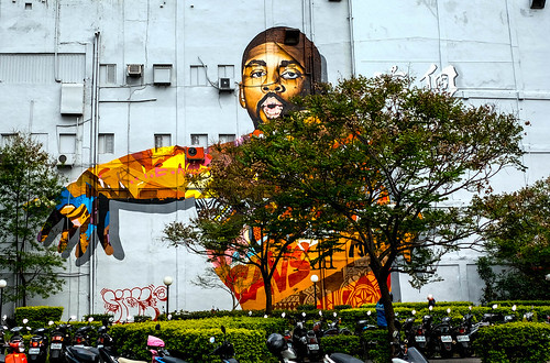 Huge mural in Taipei | by TheViewDeck