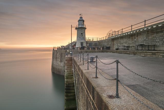 Folkestone Harbour Arm Sunrise!