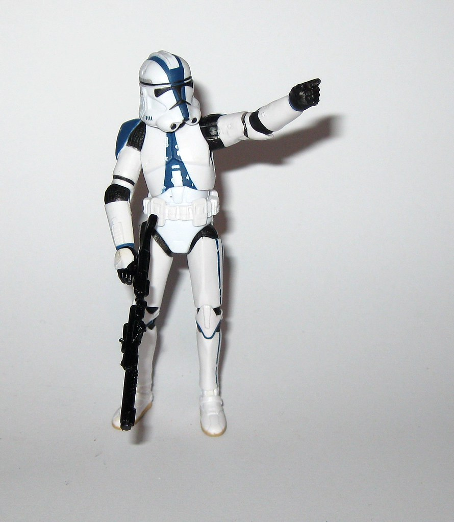 Vc60 Clone Trooper 501st Legion Star Wars The Vintage Coll Flickr