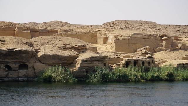 Gebel el-Silsila, Nile River, Egypt.