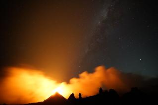 Eruption Piton de la Fournaise le 28 septembre 2018