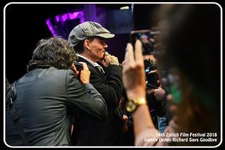 Zürich Film Festival 2018 (360) Johnny Depp