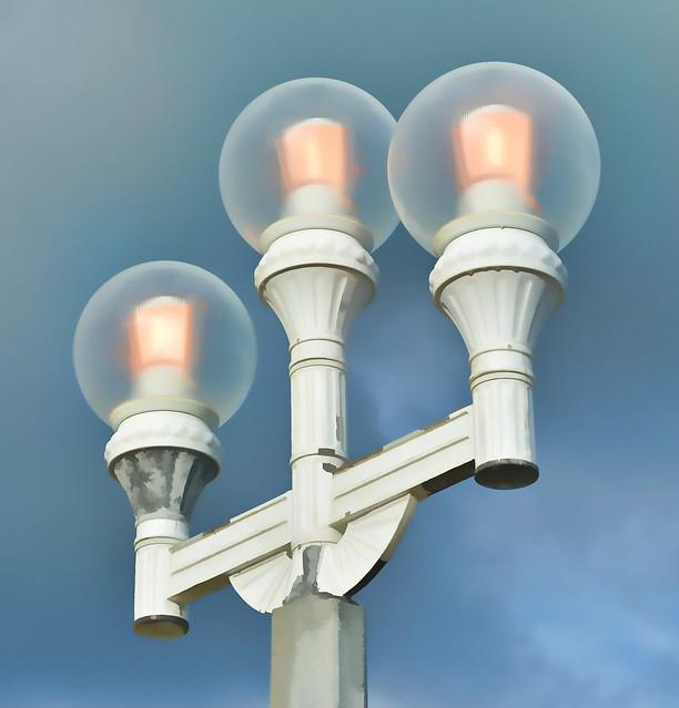 Street Lamp - Hollywood Boardwalk, Florida