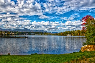 Lake Placid - New York - MIrror Lake - Autumn Scene | by Onasill ~ Bill Badzo - 67 M