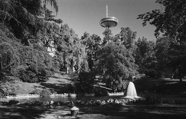 Parque del Oeste, Madrid.
