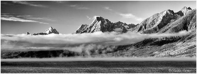 - Jackson Lake and the Grand Teton Mountains -