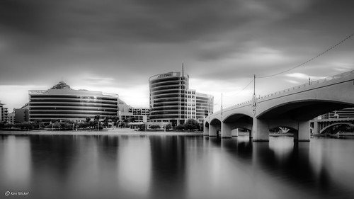 arizona cityscape clouds cloudscape cloudy kenmickelphotography lake lakes landscape longexposure longexposurephotography outdoors reflections sky tempe tempetownlake waterscape weather architecture blackandwhite bridge nature photography water unitedstates us