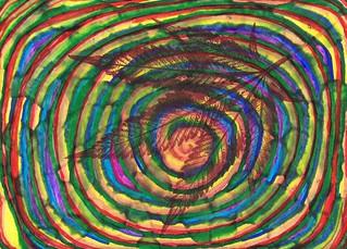 Rainbow Spiral - 2018   by Jurassic Blueberries