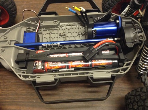 Battery lock restored to locked position.