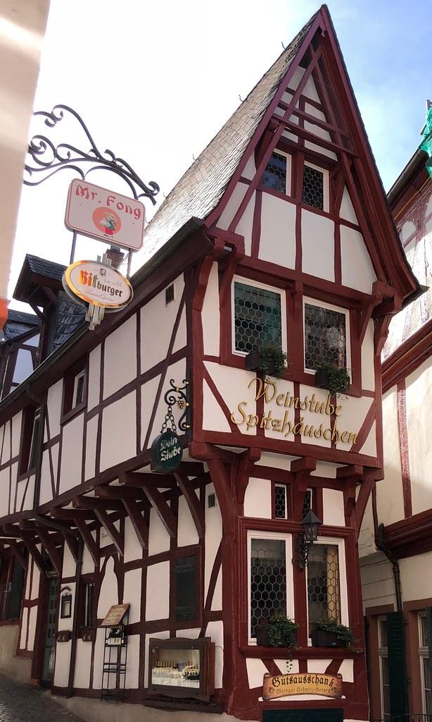 """Spitzhäuschen: Medieval """"pointed"""" house (1416)"""